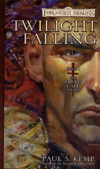 Bestselling Sci-Fi/ Fantasy (2006) - Twilight Falling (Forgotten Realms: The Erevis Cale Trilogy) by Paul S. Kemp