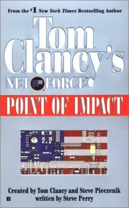 Bestselling Sci-Fi/ Fantasy (2006) - Tom Clancy's Net Force 05: Point of Impact (Net Force) by Tom Clancy