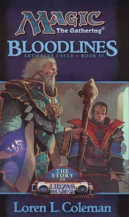 Bestselling Sci-Fi/ Fantasy (2006) - Bloodlines (Magic: The Gathering: Artifacts Cycle) by Loren L. Coleman