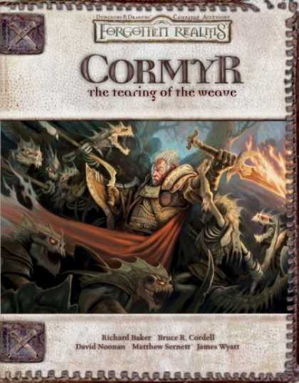 Bestselling Sci-Fi/ Fantasy (2006) - Cormyr: The Tearing of the Weave (Forgotten Realms Supplement) by Rich Baker