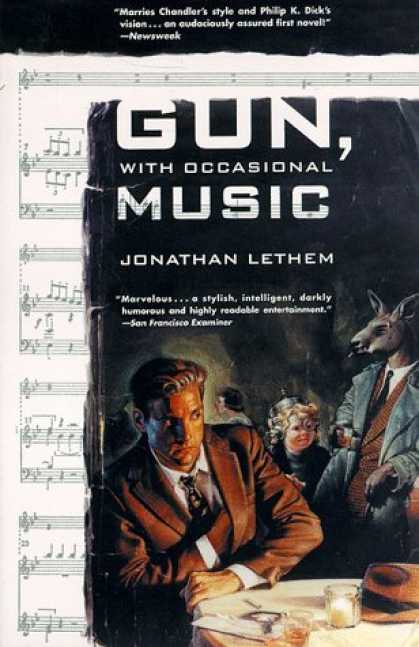 Bestselling Sci-Fi/ Fantasy (2006) - Gun, With Occasional Music: A Novel by Jonathan Lethem