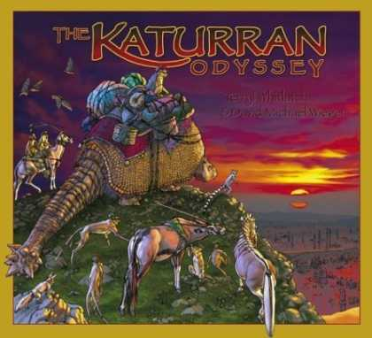 Bestselling Sci-Fi/ Fantasy (2006) - The Katurran Odyssey by David Michael Wieger