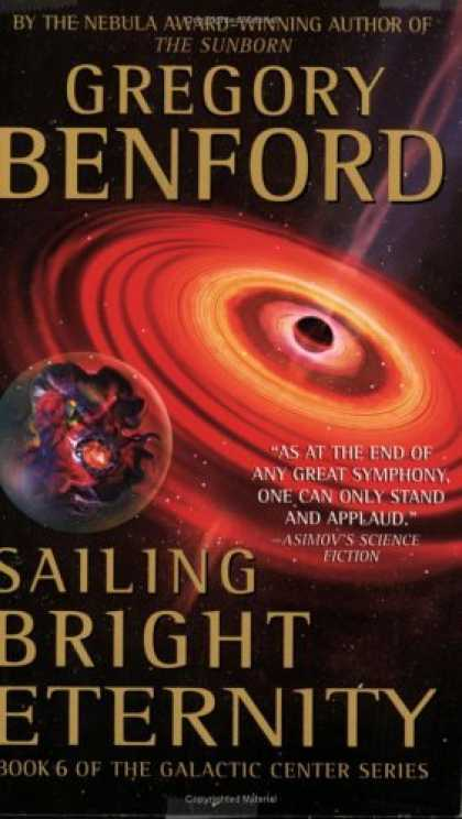Bestselling Sci-Fi/ Fantasy (2006) - Sailing Bright Eternity (Galactic Center) by Gregory Benford