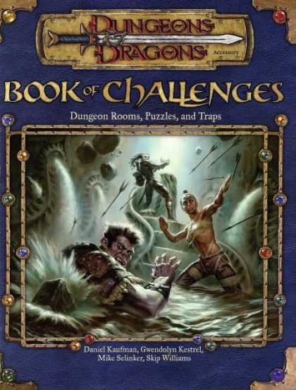 Bestselling Sci-Fi/ Fantasy (2006) - Book of Challenges: Dungeon Rooms, Puzzles, and Traps (Dungeons & Dragons Access