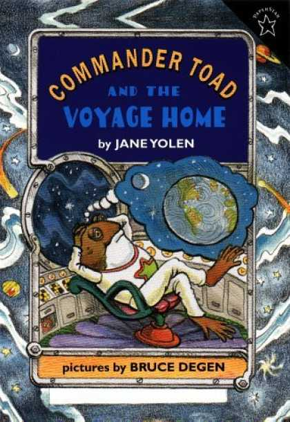 Bestselling Sci-Fi/ Fantasy (2006) - Commander Toad and the Voyage Home (Commander Toad) by Jane Yolen