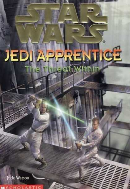 Bestselling Sci-Fi/ Fantasy (2006) - The Threat Within (Star Wars: Jedi Apprentice, Book 18) by Jude Watson