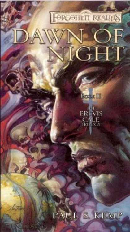Bestselling Sci-Fi/ Fantasy (2006) - Dawn of Night (Forgotten Realms: The Erevis Cale Trilogy) by Paul S. Kemp