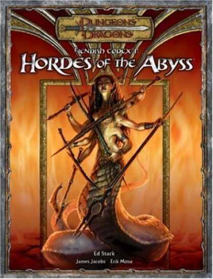 Bestselling Sci-Fi/ Fantasy (2006) - Fiendish Codex I: Hordes of the Abyss (Dungeons & Dragons Supplement) by James J