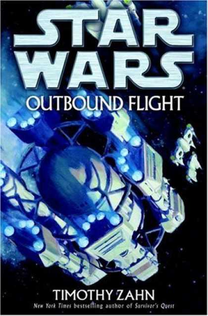 Bestselling Sci-Fi/ Fantasy (2006) - Outbound Flight (Star Wars) by Timothy Zahn