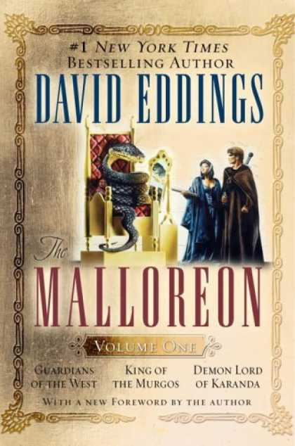 Bestselling Sci-Fi/ Fantasy (2006) - The Malloreon, Vol. 1 (Books 1-3): Guardians of the West, King of the Murgos, De