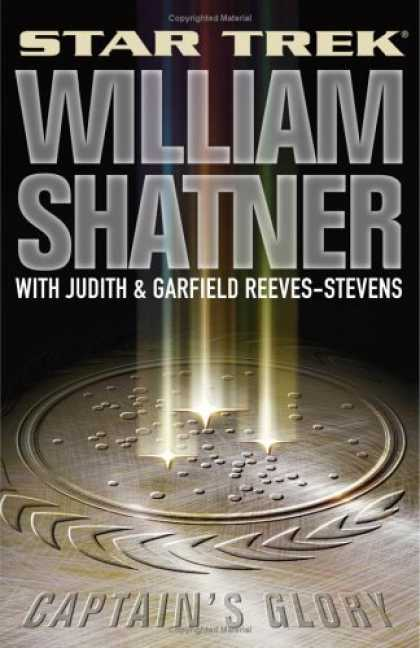 Bestselling Sci-Fi/ Fantasy (2006) - Captain's Glory (Star Trek) by William Shatner