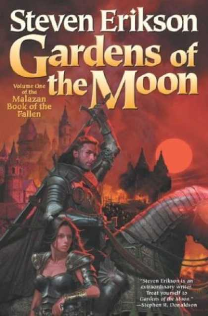 Bestselling Sci-Fi/ Fantasy (2006) - Gardens of the Moon : Book One of The Malazan Book of the Fallen (Malazan Book o
