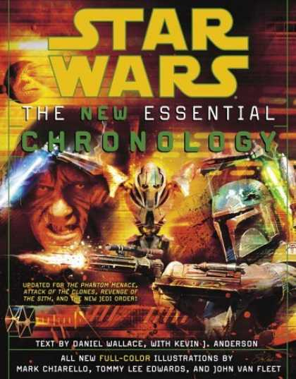 Bestselling Sci-Fi/ Fantasy (2006) - Star Wars The New Essential Chronology (Star Wars Library) by Daniel Wallace