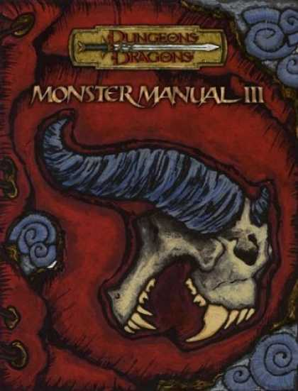 Bestselling Sci-Fi/ Fantasy (2006) - Monster Manual III (Dungeons & Dragons Supplement) by Wizards Of The Coast