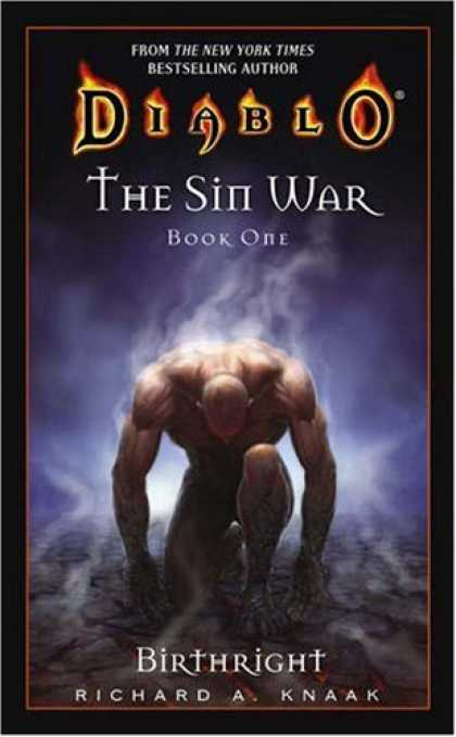Bestselling Sci-Fi/ Fantasy (2006) - The Sin War, Book One: Birthright (Diablo) by Richard A. Knaak
