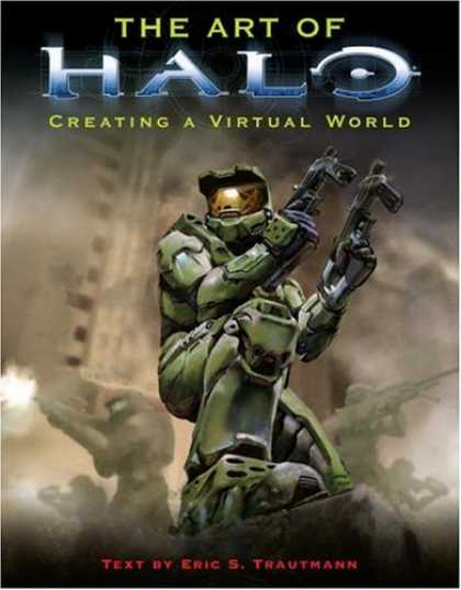 Bestselling Sci-Fi/ Fantasy (2006) - The Art of Halo by Eric S. Trautmann