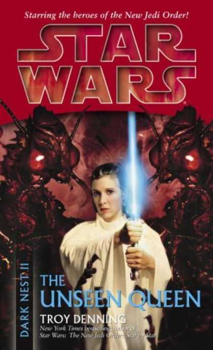 Bestselling Sci-Fi/ Fantasy (2006) - The Unseen Queen (Star Wars: Dark Nest, Book 2) by Troy Denning