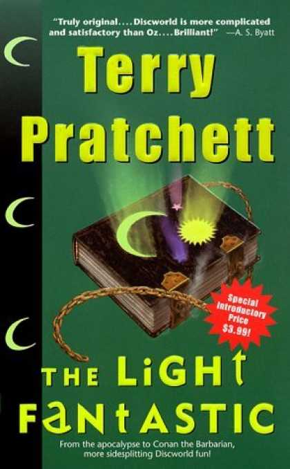 Bestselling Sci-Fi/ Fantasy (2006) - The Light Fantastic by Terry Pratchett