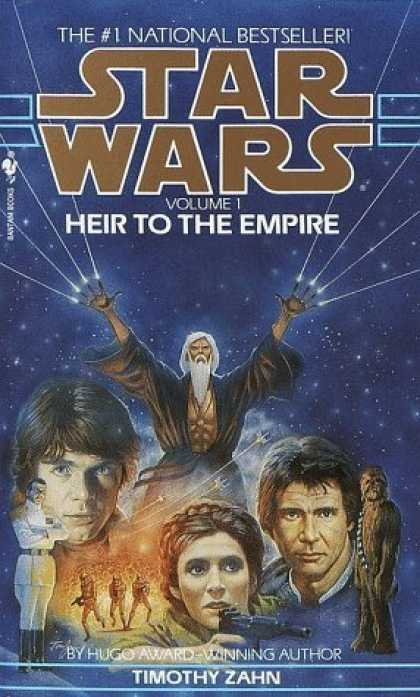 Bestselling Sci-Fi/ Fantasy (2006) - Heir to the Empire (Star Wars: The Thrawn Trilogy, Vol. 1) by Timothy Zahn