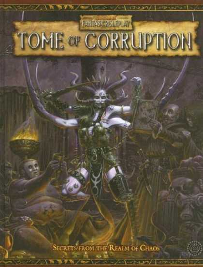 Bestselling Sci-Fi/ Fantasy (2006) - WFRP Tome of Corruption (Warhammer Fantasy Roleplay) by Green Ronin