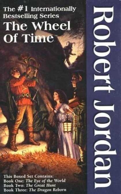 Bestselling Sci-Fi/ Fantasy (2006) - The Wheel of Time (Boxed Set #1) by Robert Jordan