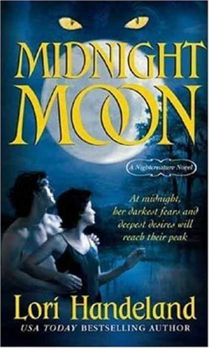 Bestselling Sci-Fi/ Fantasy (2006) - Midnight Moon (A Nightcreature Novel) by Lori Handeland