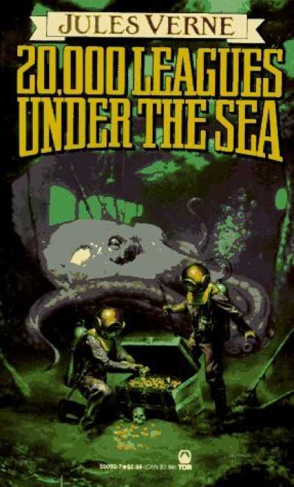 Bestselling Sci-Fi/ Fantasy (2006) - 20,000 Leagues Under the Sea (Tor Classics) by Jules Verne