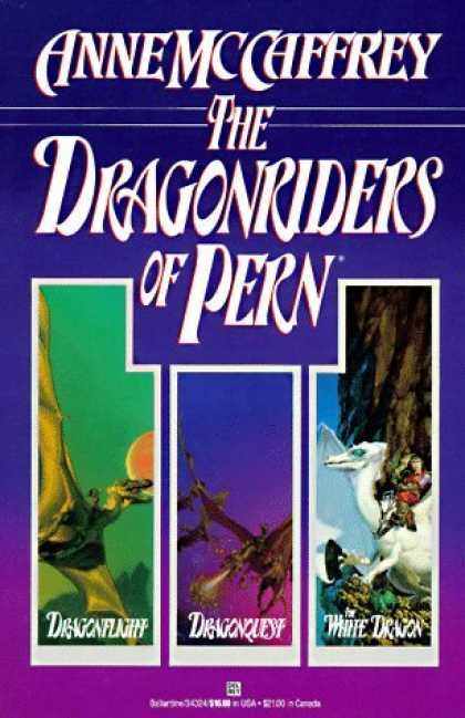 Bestselling Sci-Fi/ Fantasy (2006) - Dragonriders of Pern by Anne McCaffrey