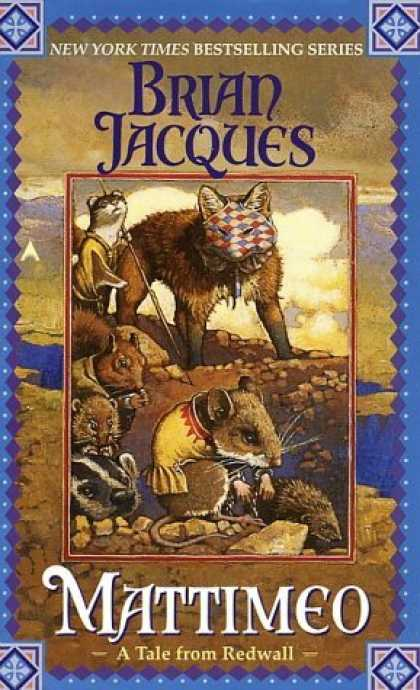 Bestselling Sci-Fi/ Fantasy (2006) - Mattimeo (Redwall, Book 3) by Brian Jacques
