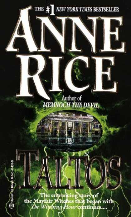 Bestselling Sci-Fi/ Fantasy (2006) - Taltos by Anne Rice