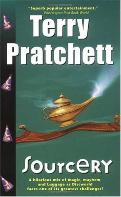 Bestselling Sci-Fi/ Fantasy (2006) - Sourcery by Terry Pratchett
