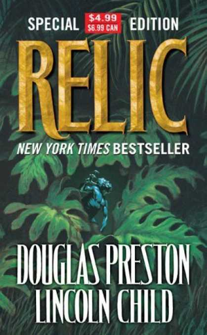 Bestselling Sci-Fi/ Fantasy (2006) - Relic by Lincoln Child