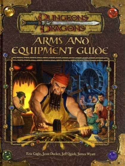 Bestselling Sci-Fi/ Fantasy (2006) - Arms and Equipment Guide (Dungeons & Dragons Accessory) by Eric Cagle