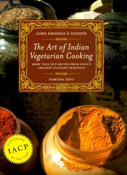 Bestselling Sci-Fi/ Fantasy (2006) - Lord Krishna's Cuisine: The Art of Indian Vegetarian Cooking by Yamuna Devi