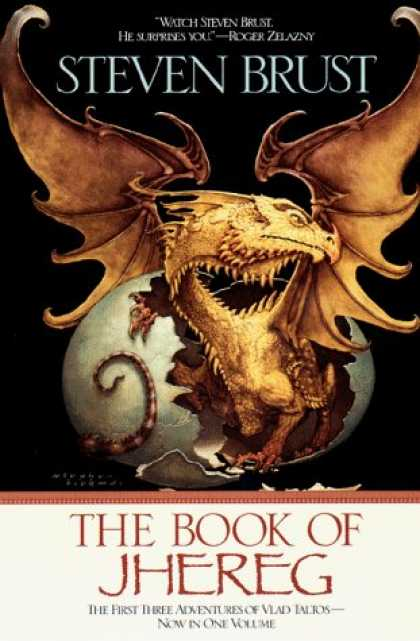 Bestselling Sci-Fi/ Fantasy (2006) - The Book of Jhereg (Vlad Taltos) by Steven Brust