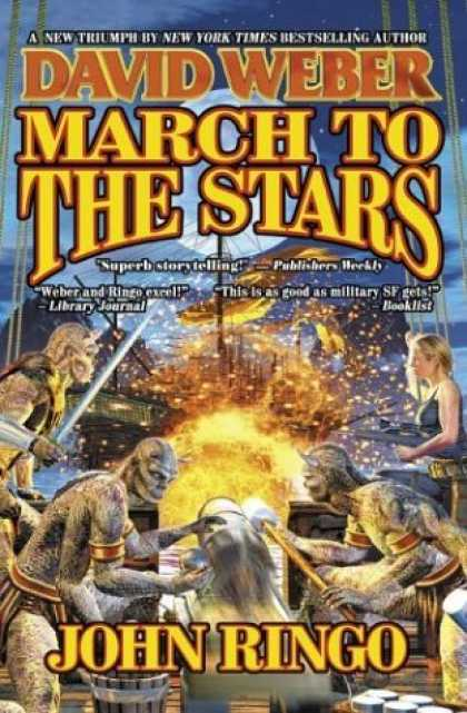 Bestselling Sci-Fi/ Fantasy (2006) - March to the Stars (Prince Roger Series, Book 3) by David Weber