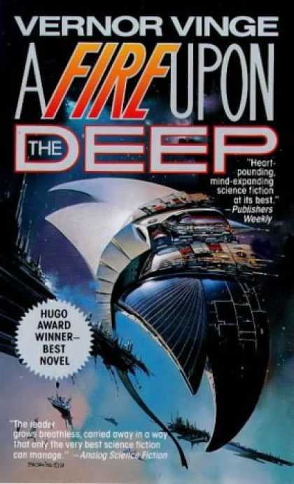 Bestselling Sci-Fi/ Fantasy (2006) - A Fire Upon The Deep (Zones of Thought) by Vernor Vinge