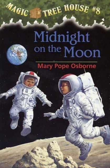 Bestselling Sci-Fi/ Fantasy (2006) - Midnight On The Moon (Magic Tree House 8, paper) by Mary Pope Osborne
