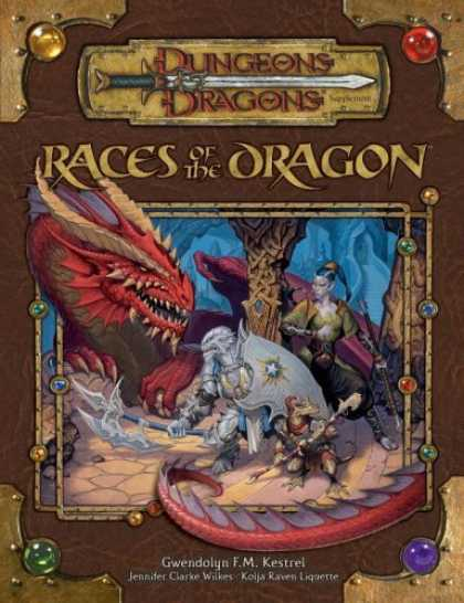 Bestselling Sci-Fi/ Fantasy (2006) - Races of the Dragon (Dungeons & Dragons Supplement) by Gwendolyn F.M Kestrel