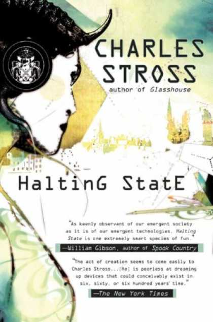 Bestselling Sci-Fi/ Fantasy (2007) - Halting State by Charles Stross
