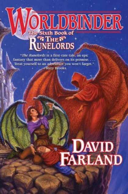 Bestselling Sci-Fi/ Fantasy (2007) - Worldbinder (Runelords) by David Farland