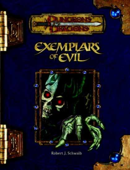 Bestselling Sci-Fi/ Fantasy (2007) - Exemplars of Evil: Deadly Foes to Vex Your Heroes (Dungeons & Dragons d20 3.5 Fa