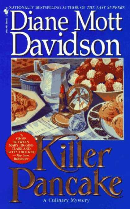 Bestselling Sci-Fi/ Fantasy (2007) - Killer Pancake (Goldy Culinary Mysteries, Book 5) by Diane Mott Davidson