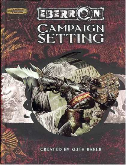 Bestselling Sci-Fi/ Fantasy (2007) - Eberron Campaign Setting (Dungeons & Dragons d20 3.5 Fantasy Roleplaying) by Kei