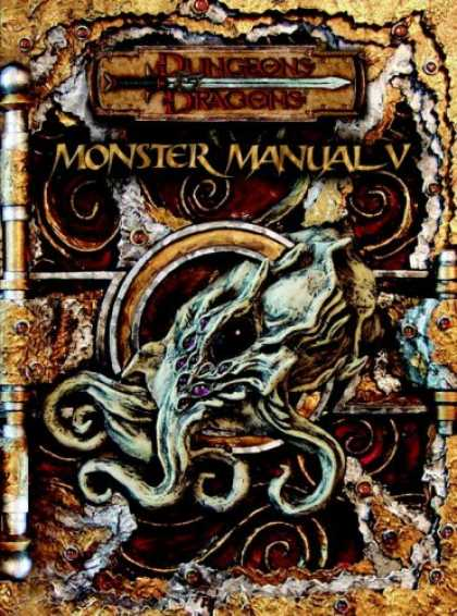 Bestselling Sci-Fi/ Fantasy (2007) - Monster Manual V (Dungeons & Dragons d20 3.5 Fantasy Roleplaying) by Wizards Tea