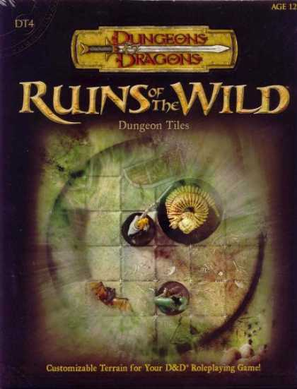 Bestselling Sci-Fi/ Fantasy (2007) - Ruins of the Wild: Dungeon Tiles 4 (Dungeons & Dragons Fantasy Roleplaying Acces