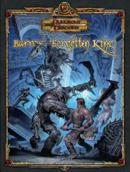 Bestselling Sci-Fi/ Fantasy (2007) - Barrow of the Forgotten King (Dungeons & Dragons d20 3.5 Fantasy Roleplaying) by