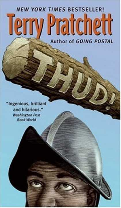 Bestselling Sci-Fi/ Fantasy (2007) - Thud! by Terry Pratchett