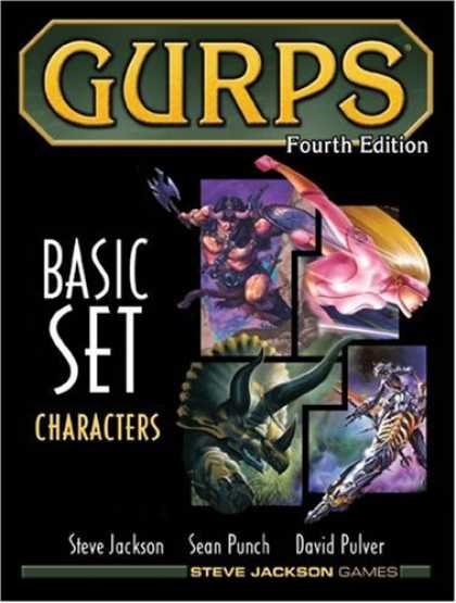 Bestselling Sci-Fi/ Fantasy (2007) - GURPS Basic Set: Characters, Fourth Edition by Steve Jackson