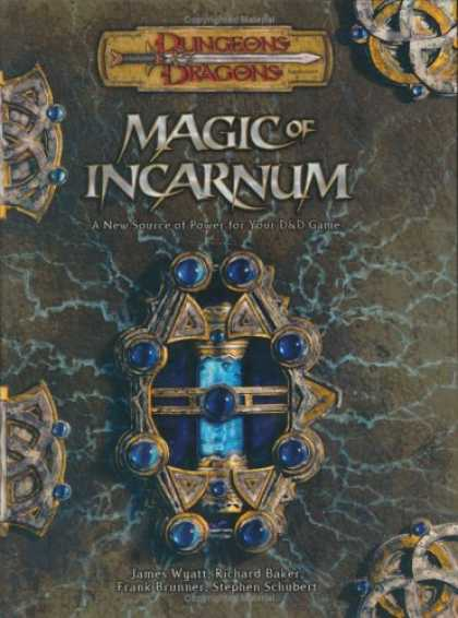 Bestselling Sci-Fi/ Fantasy (2007) - Magic of Incarnum (Dungeons & Dragons d20 3.5 Fantasy Roleplaying) by James Wyat